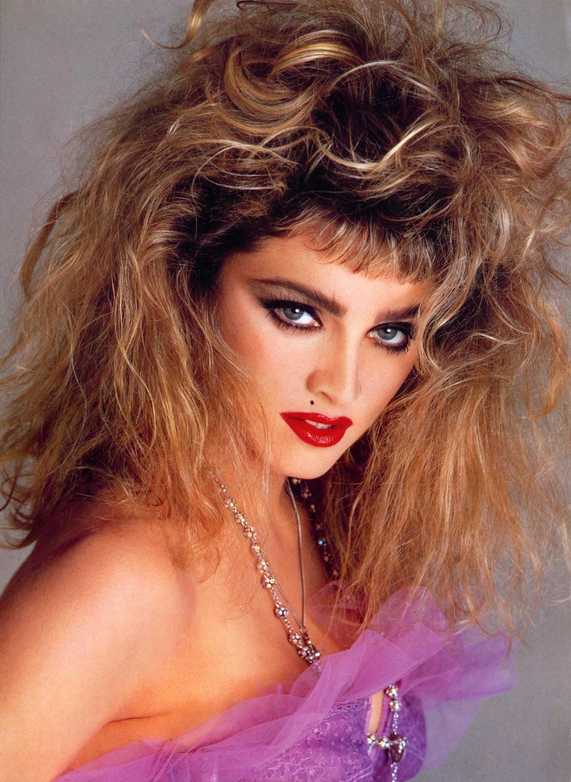 Madonna maquillaje años 80