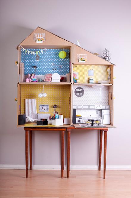 Casitas de muñecas DIY 5