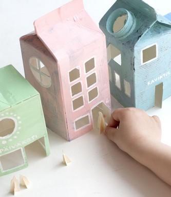 Casitas de muñecas DIY 8