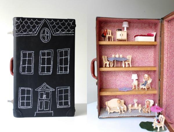 Casitas de muñecas DIY 13