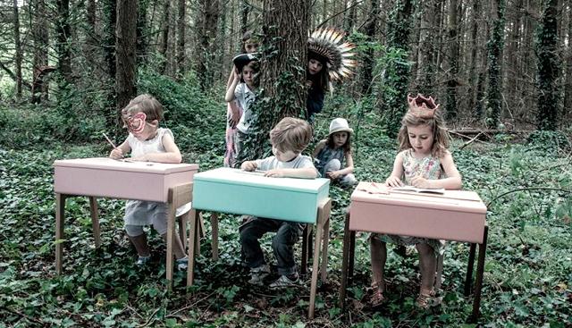 Pupitres retro: Jungle by Jungle