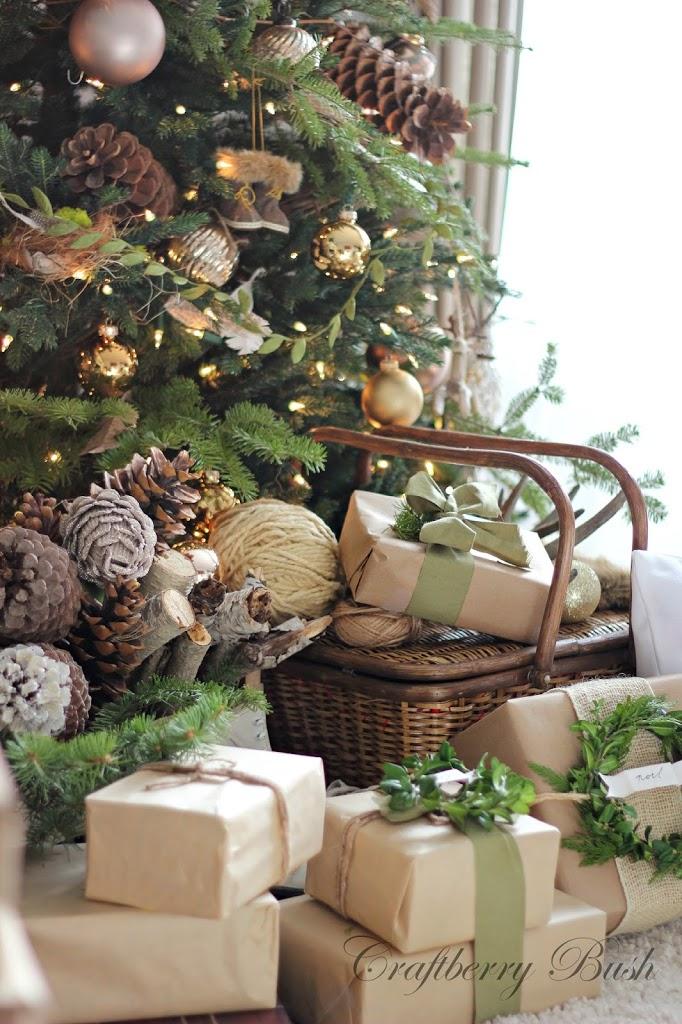 regalos en papel kraft