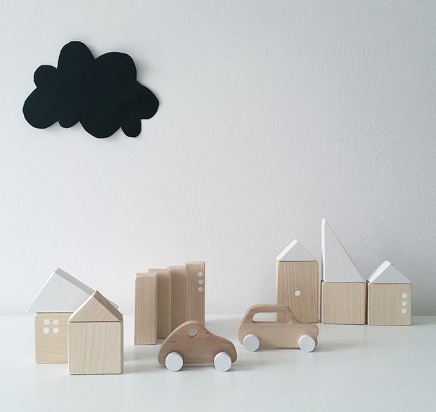 Piezas de Pinch Toys. Juguetes de madera ecológicos