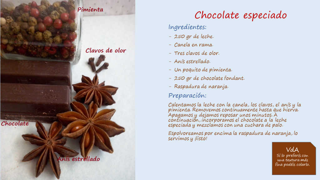 Chocolate especiado 2