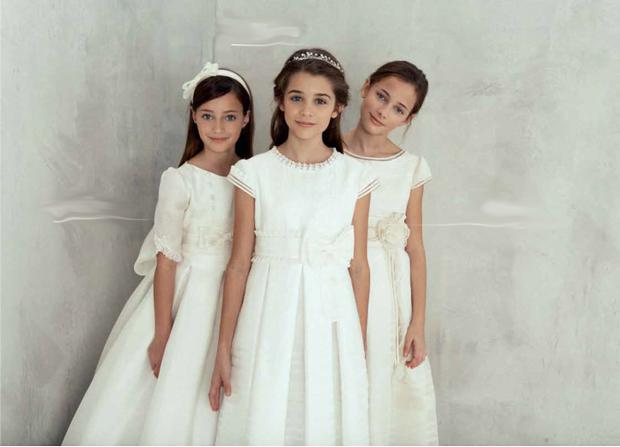Vestidos primera comunion nina el corte ingles