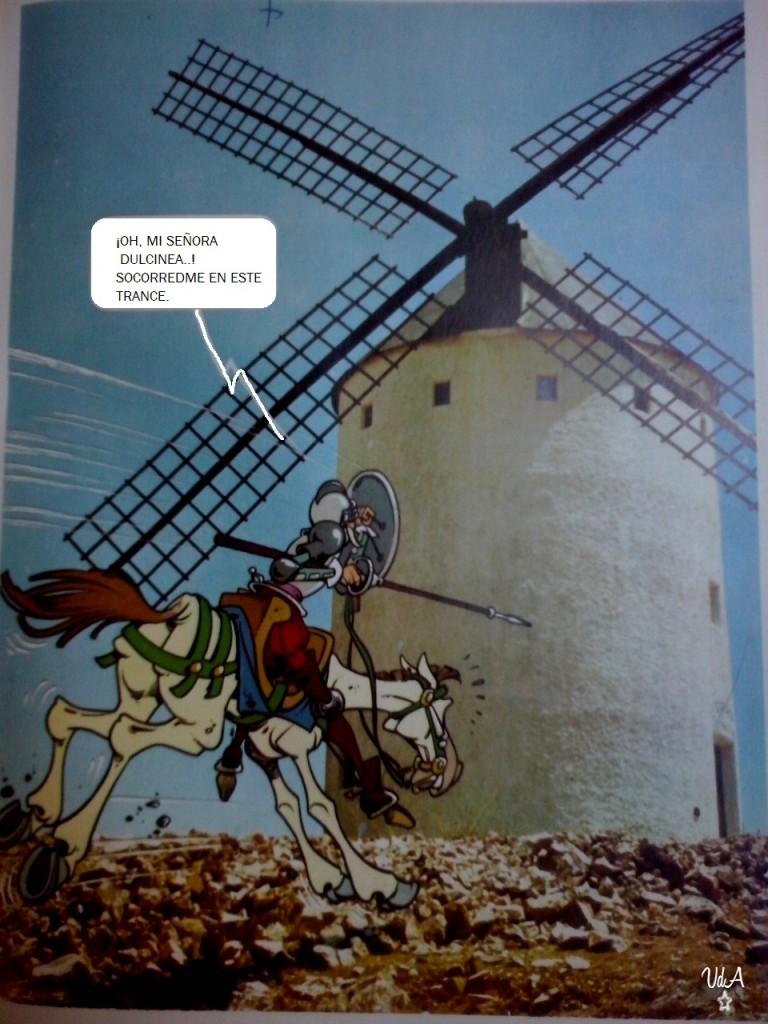 Don Quijote molino vdaa