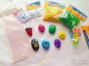 Materiales para decorar monstruos