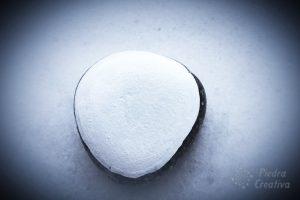 pintar un corazón en piedra