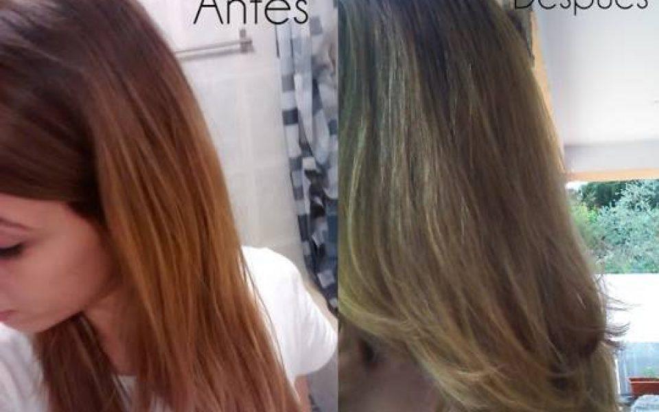Quitar color anaranjado pelo