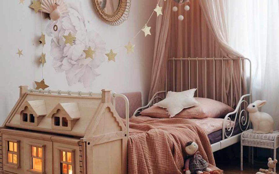 Un Dormitorio De Ensueño Para Niñas Charhadas
