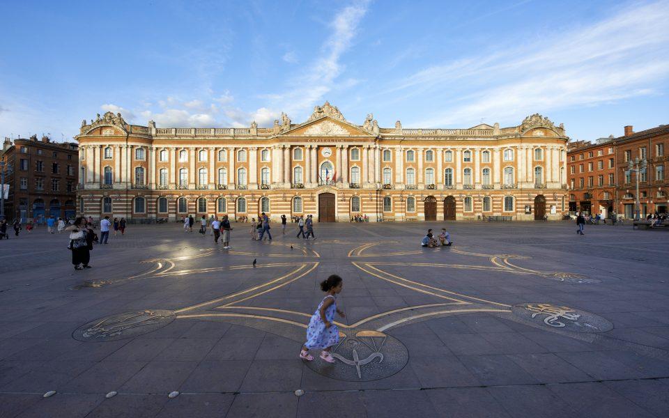 Toulouse con niños
