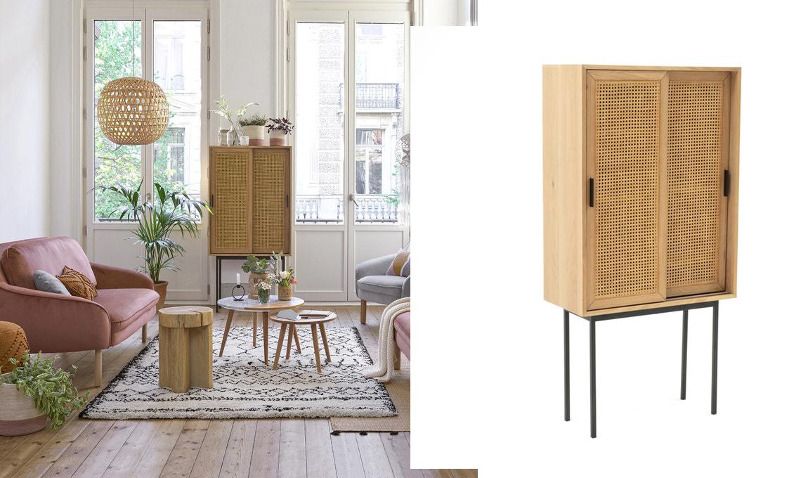 Aires renovados para tu hogar con muebles de mimbre