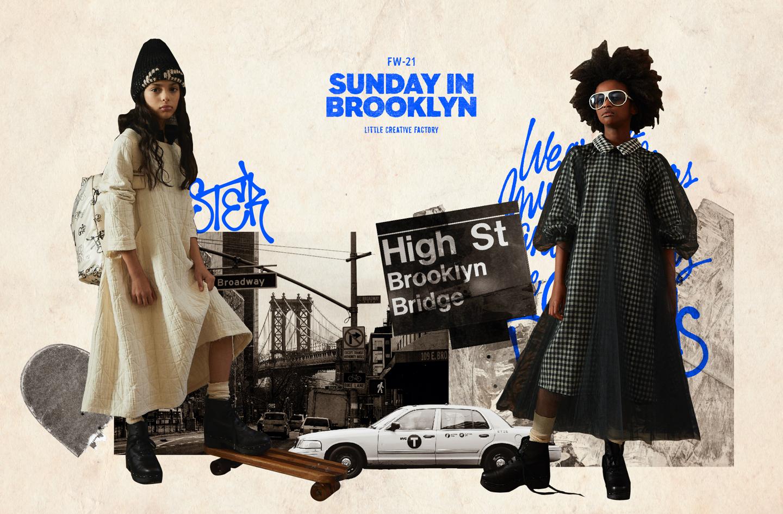 Sunday in Brooklyn: la nueva colección de Little Creative Factory